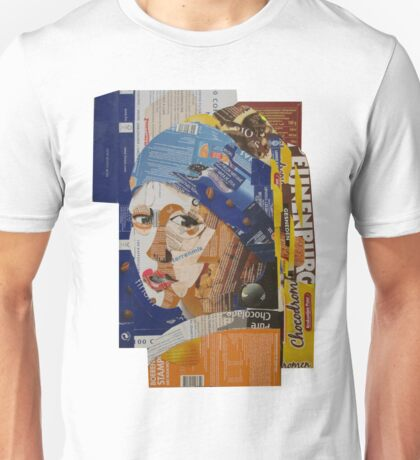 Pearl girl in cardboard box Unisex T-Shirt