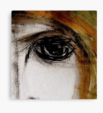 eye... empty look Canvas Print