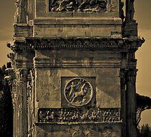 Roman Tower B&W by EGGY6198