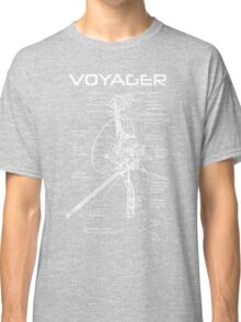 Voyager Program - White Ink Classic T-Shirt
