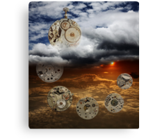 The Ageless Passage of Time Canvas Print