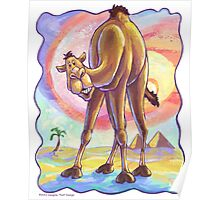 Animal Parade Camel Poster