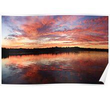 chinderah sunset ... Poster