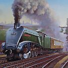 Gresley A4 Pacific. by Mike Jeffries