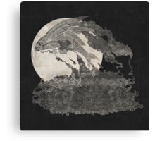Ocean Moon  Canvas Print