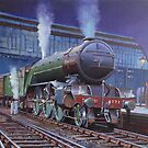 Gresley Green Arrow Pacific. by Mike Jeffries