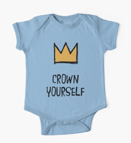 Crown Yourself One Piece - Short Sleeve