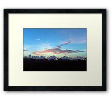 Wispy ~ FNQ Summer Dawn Framed Print