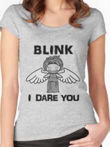 BLINK, I DARE YOU Women's Fitted Scoop T-Shirt