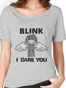 BLINK, I DARE YOU Women's Relaxed Fit T-Shirt