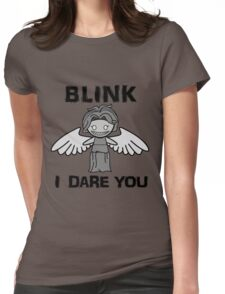 BLINK, I DARE YOU Womens Fitted T-Shirt