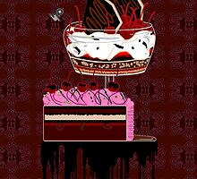 chocolate cherry pie by Utilicon