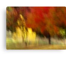 My Autumn View Canvas Print