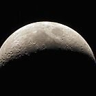 Waxing Crescent - 11 November 2010 by Alan Gamble