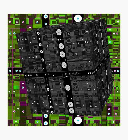 Cube 3 Photographic Print