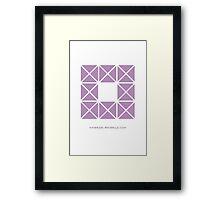Design 4 Framed Print