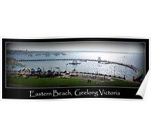 Eastern Beach, Geelong Victoria Poster