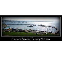 Eastern Beach, Geelong Victoria Photographic Print