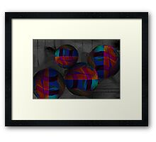 Bouncy Balls Framed Print