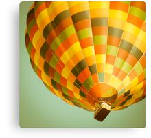 Happy hot air balloon Canvas Print