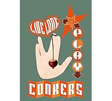 Live long play conkers Photographic Print