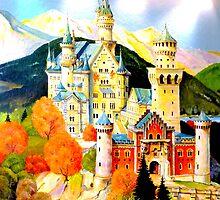Schloß Neuschwanstein ~ Bavarian Fairytale Castle by ©The Creative  Minds