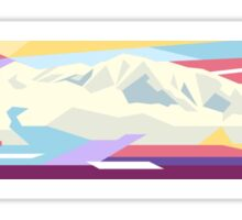 Mountains in Another World  Sticker