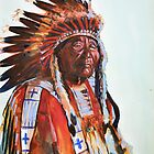 Crazy Head, Cheyenne Chief by itchingink