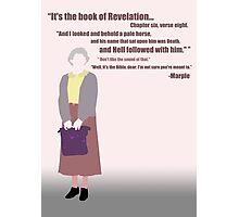 Miss Marple... Photographic Print