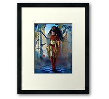 Gothic Lolita Framed Print