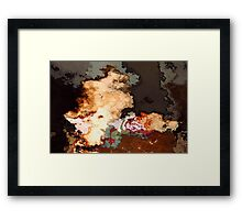 Colour Wafts #1 Framed Print