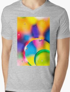 Oil & Water 6 Mens V-Neck T-Shirt