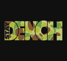 Stay Dench (Khaki) by Sam Stringer