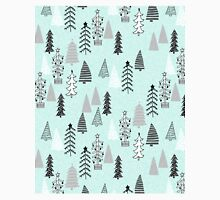 Christmas Forest - Light Blue b Andrea Lauren  Classic T-Shirt