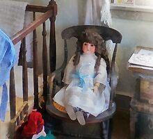 Doll in Nursery by Susan Savad