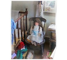 Doll in Nursery Poster