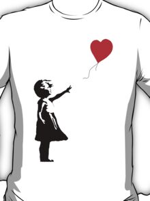 Girl with Balloons T-Shirt