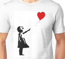 Girl with Balloons Unisex T-Shirt