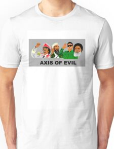 Axis Of Evil Colour Unisex T-Shirt