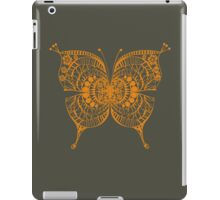 Beautiful Abstract Golden Tribal Butterfly iPad Case/Skin