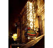 Broadway Burger Photographic Print