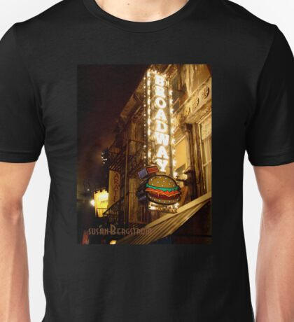 Broadway Burger Unisex T-Shirt