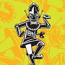 Wind Up Legong Dancer by Billy Davis