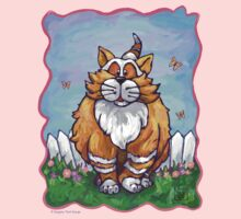 Animal Parade Ginger Cat One Piece - Long Sleeve