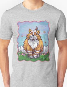 Animal Parade Ginger Cat Unisex T-Shirt