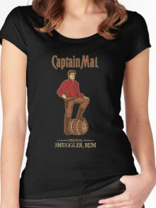 Smuggler Rum Women's Fitted Scoop T-Shirt