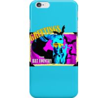 Greetings From Bat Country iPhone Case/Skin