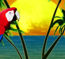 Hawaii Sunset Sticker
