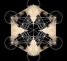 Metatron's Cube J by filippobassano