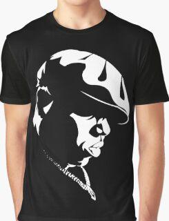 Biggie Smalls Stencil Graphic T-Shirt